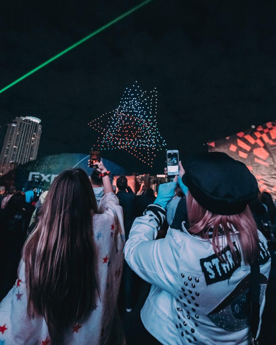 Intersect Music Festival Lights