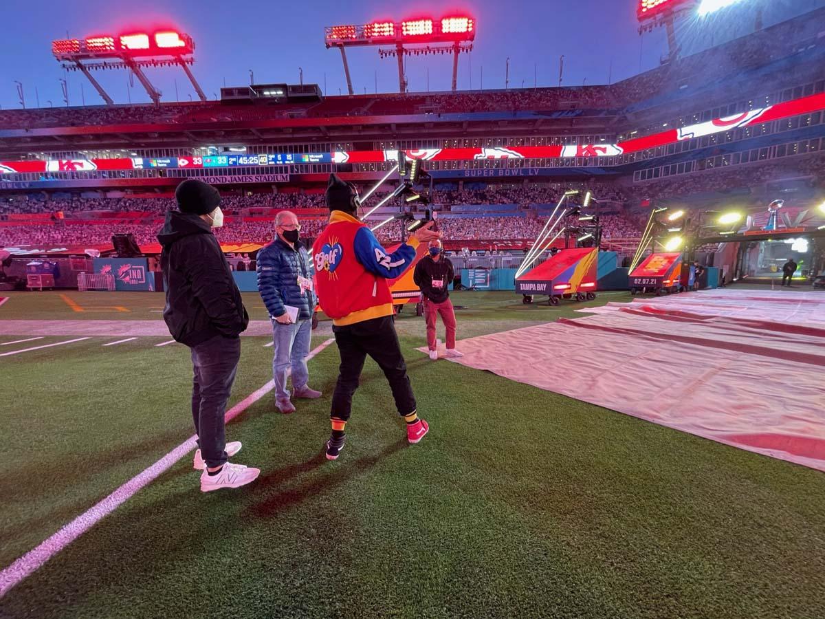 Super Bowl LV Field