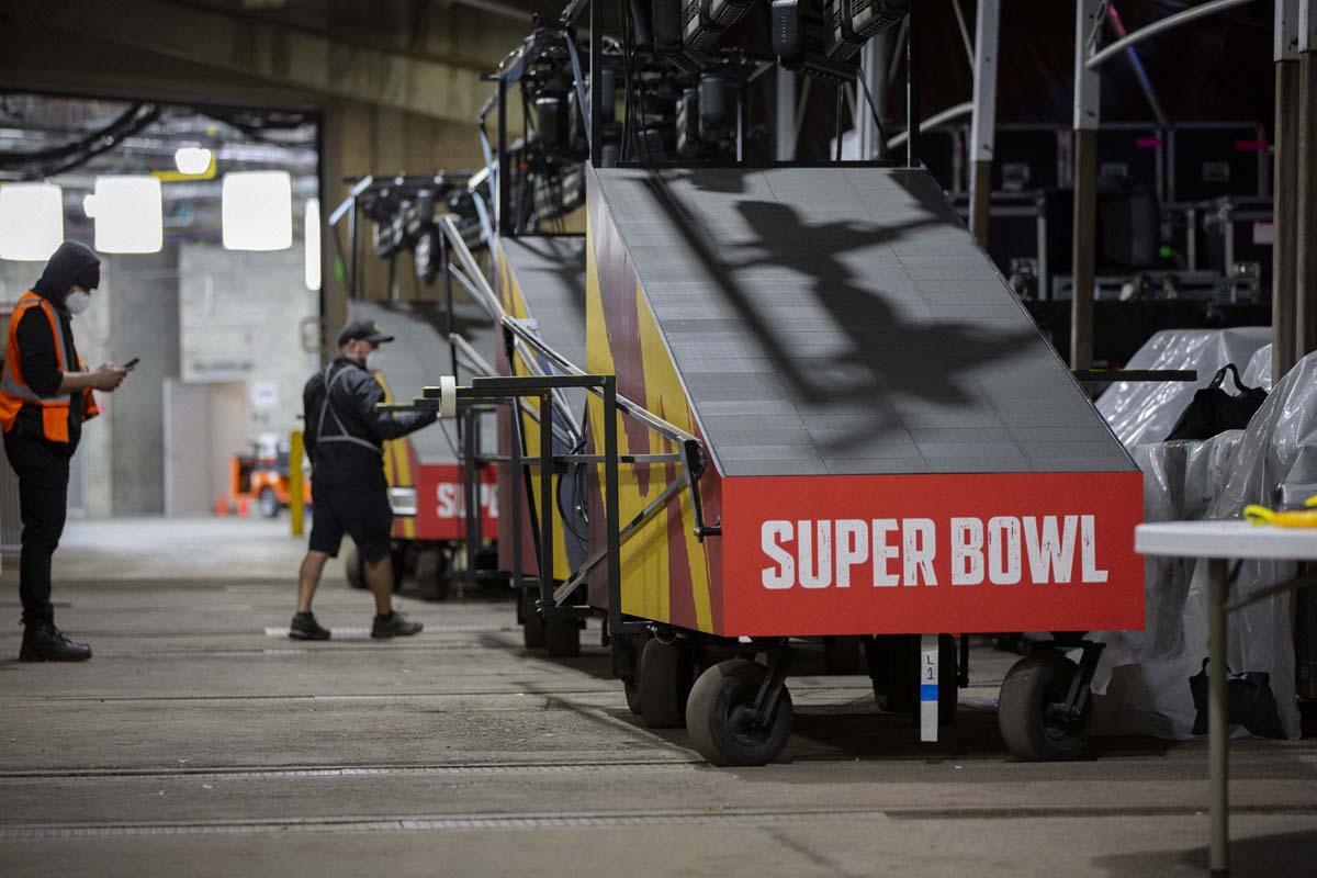Super Bowl LV Production