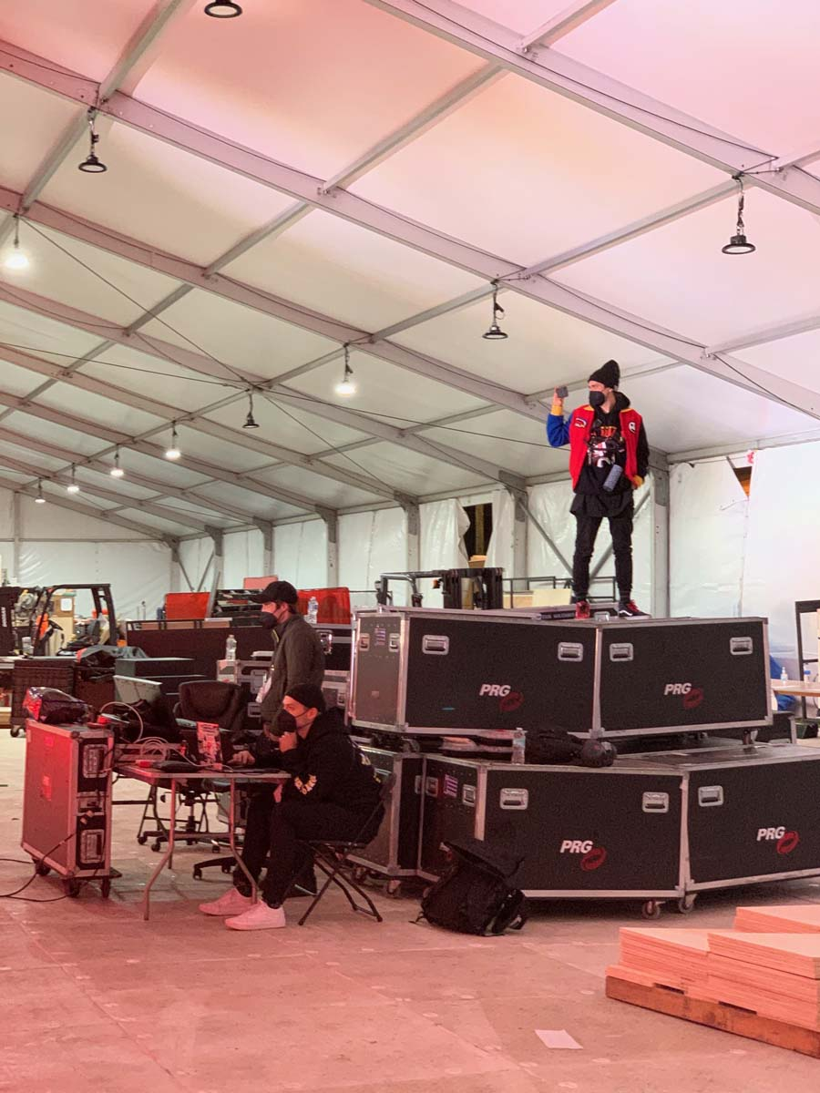 Super Bowl LV Backstage