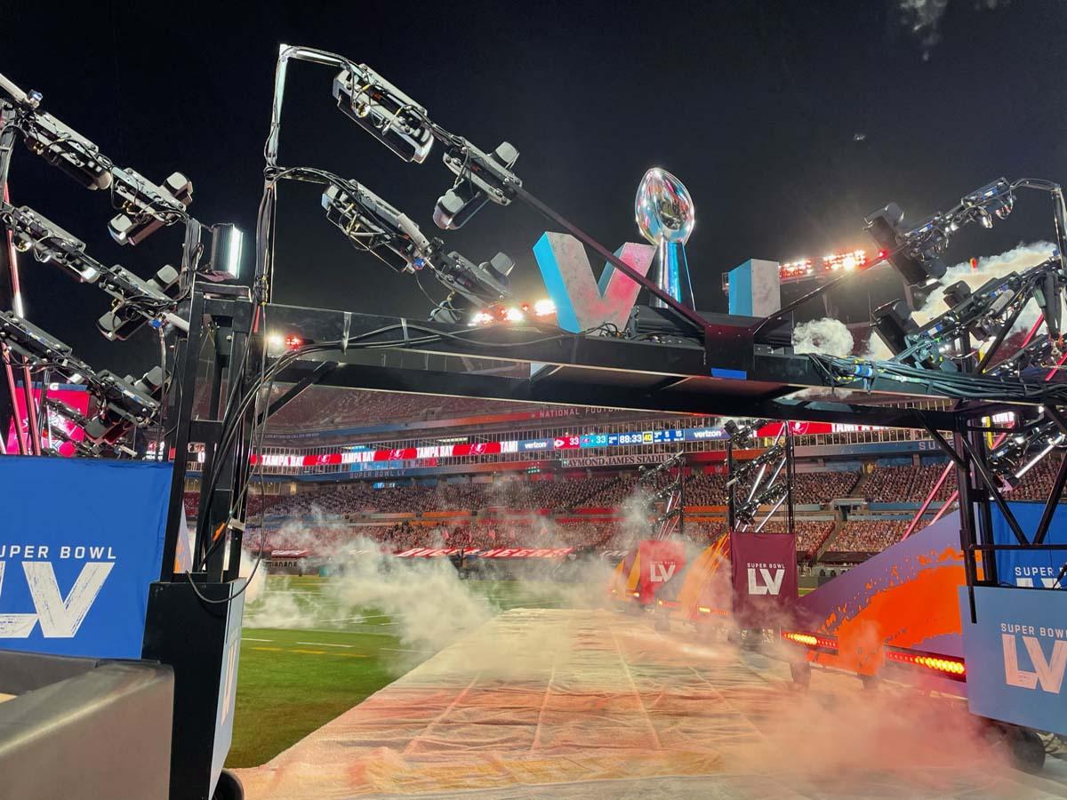 Super Bowl LV Entrance