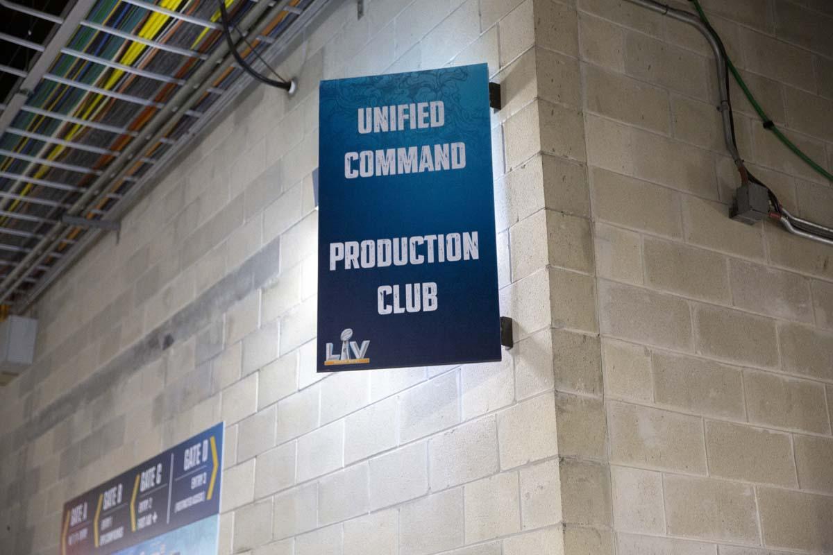 Super Bowl LV Production Club