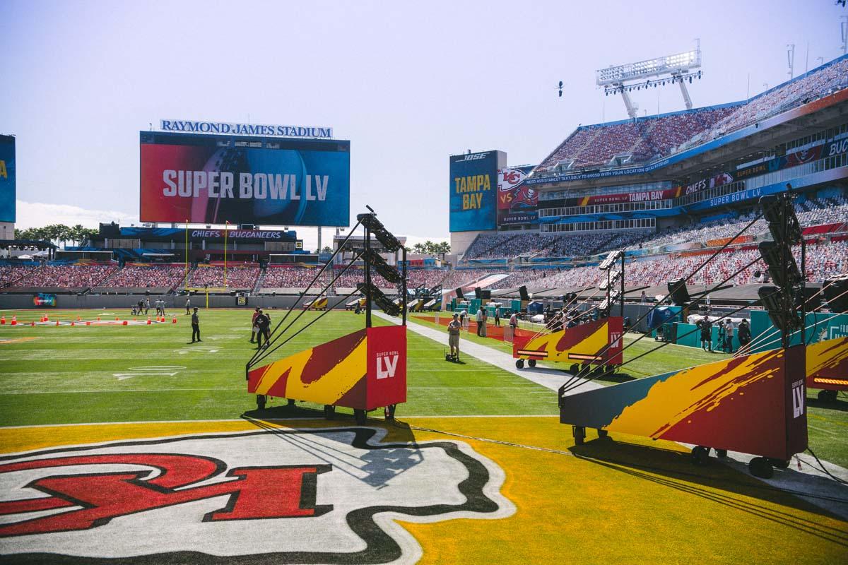 Super Bowl LV Raymond James Stadium