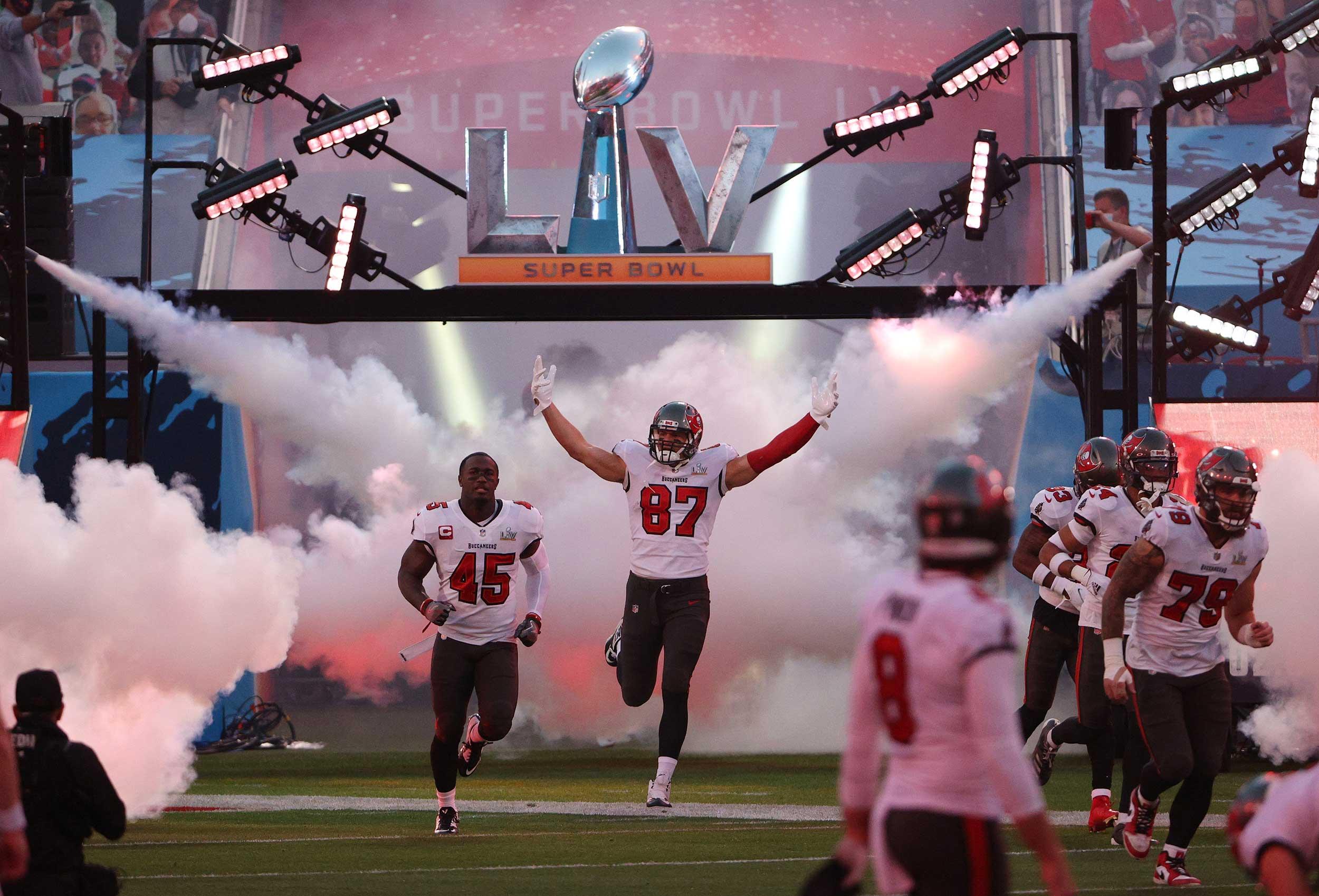 Super Bowl LV – Player Entrance