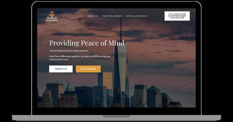 Menna & Associates Website
