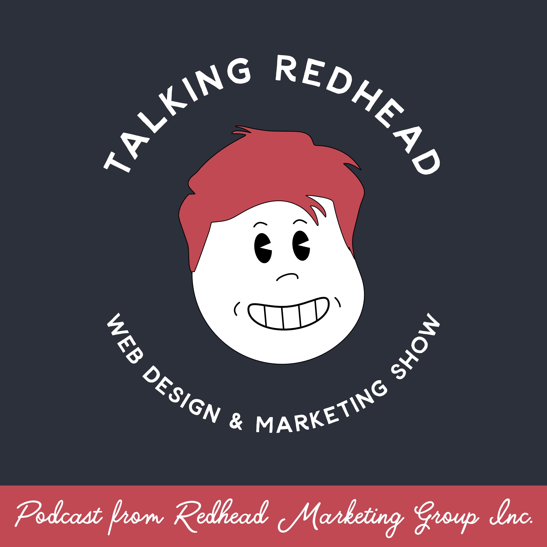 Talking Redhead Podcast Logo