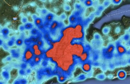 blended heatmap