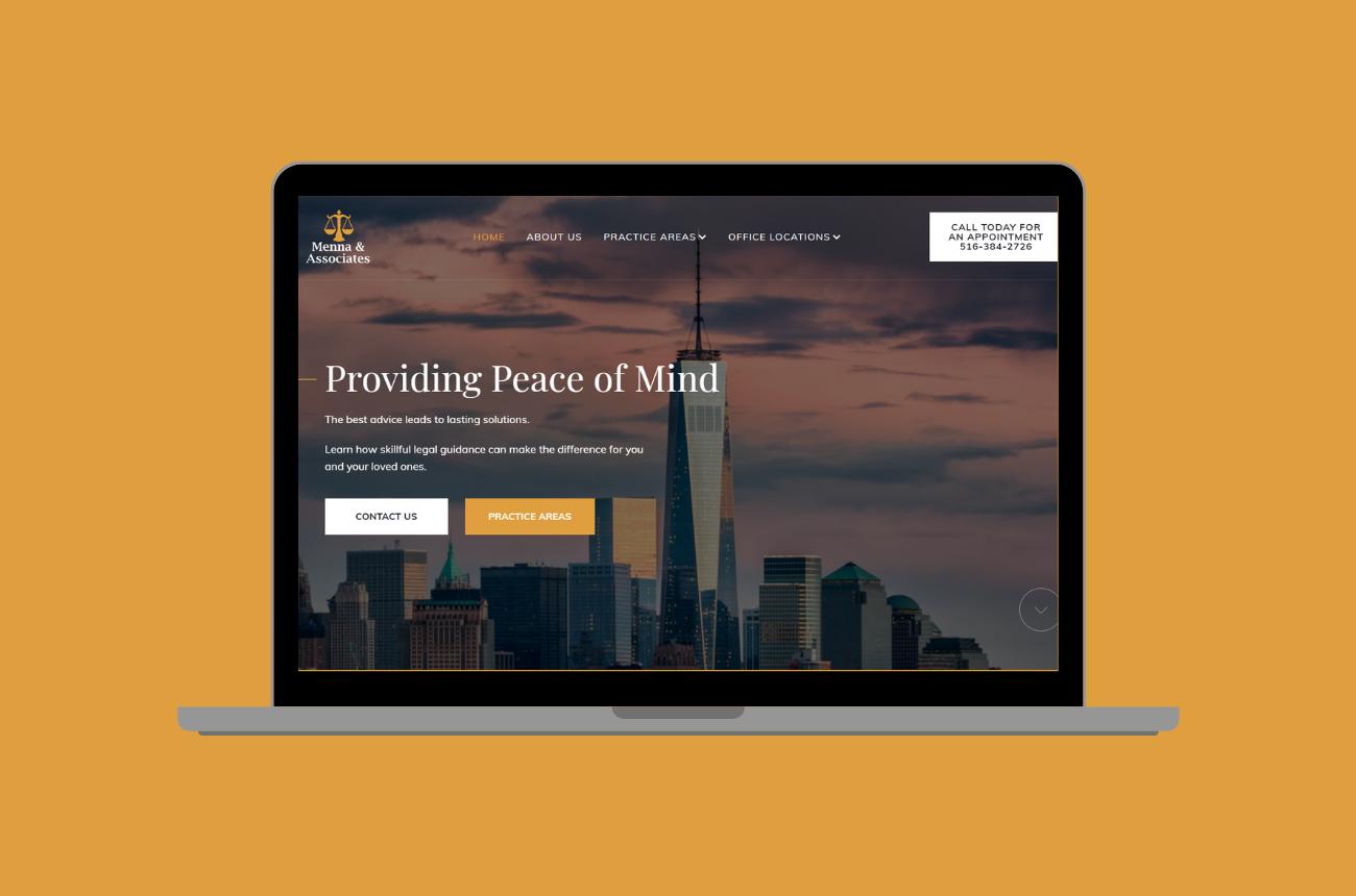 Menna & Associates Web Design