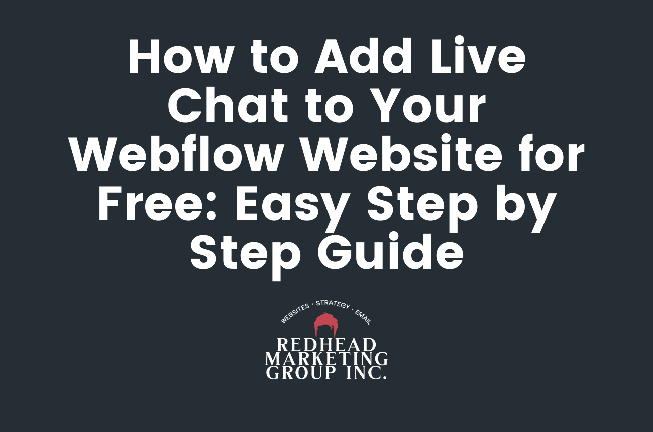 How to Add Live Chat to Your Webflow Website for Free: Easy Step by Step Guide
