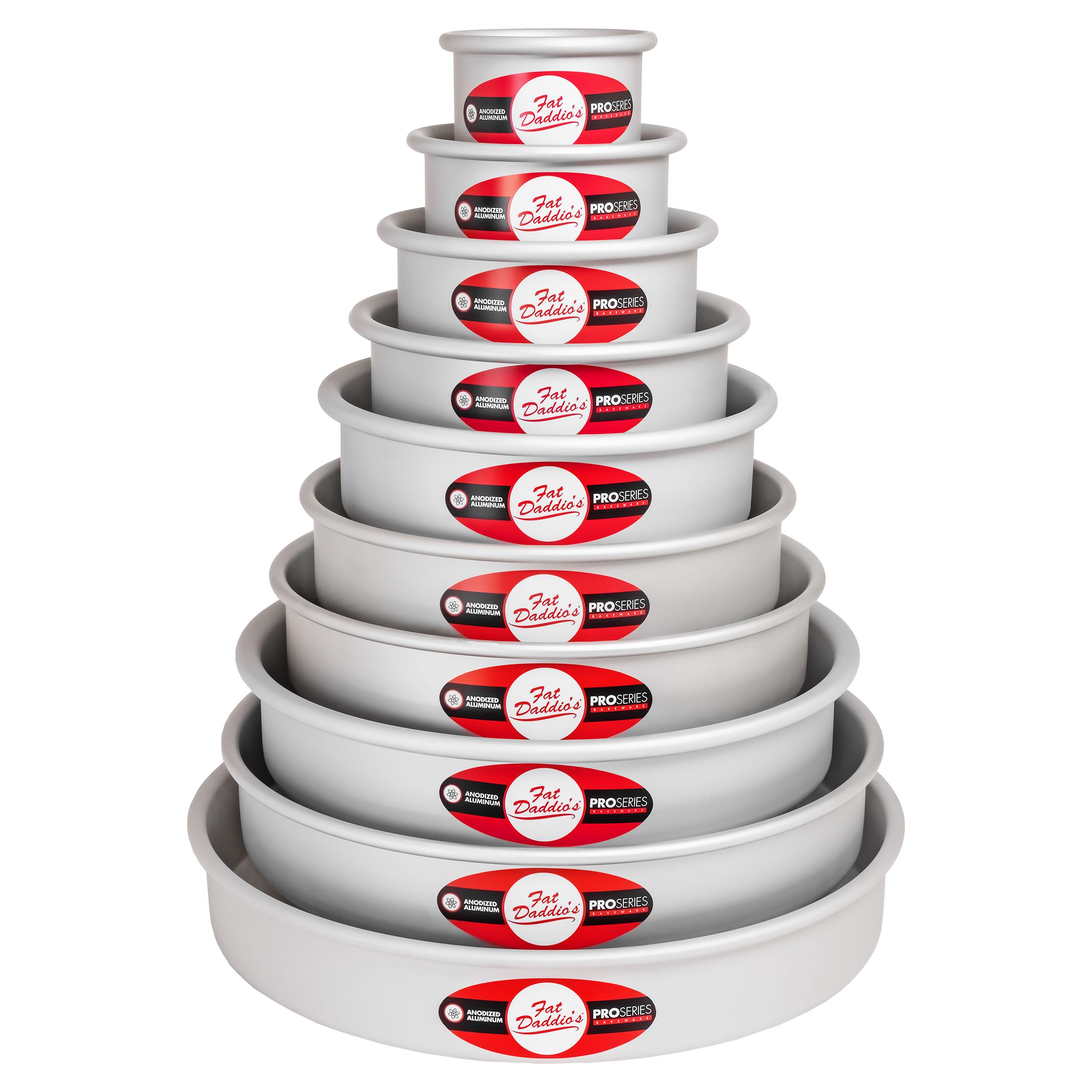 Fat Daddio's Round Cake Pan Tower