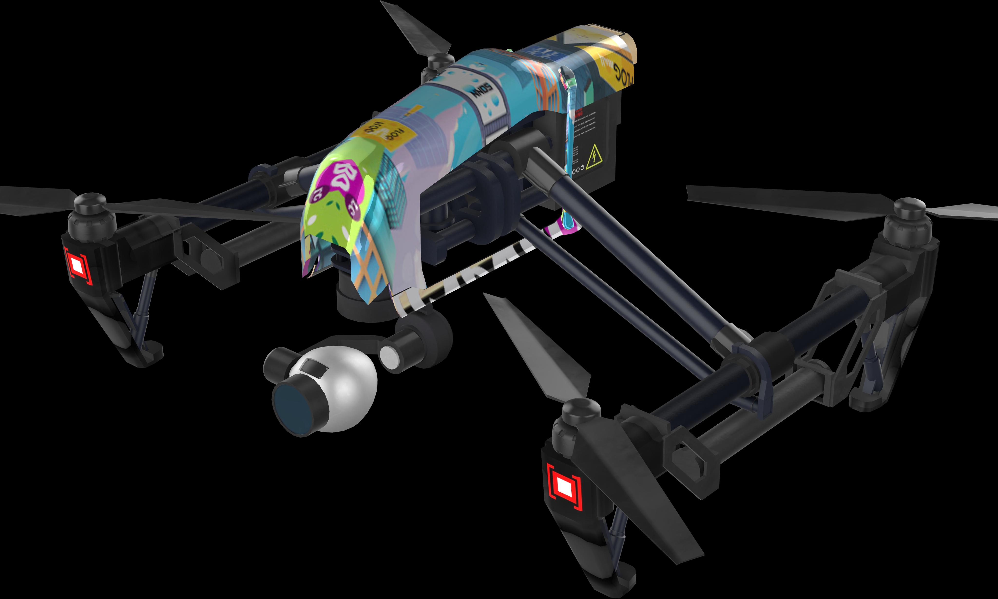 Polka Spy Drone