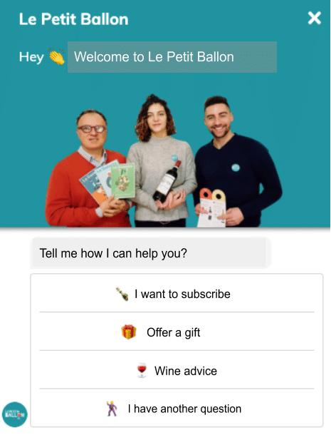 chatbot conversion