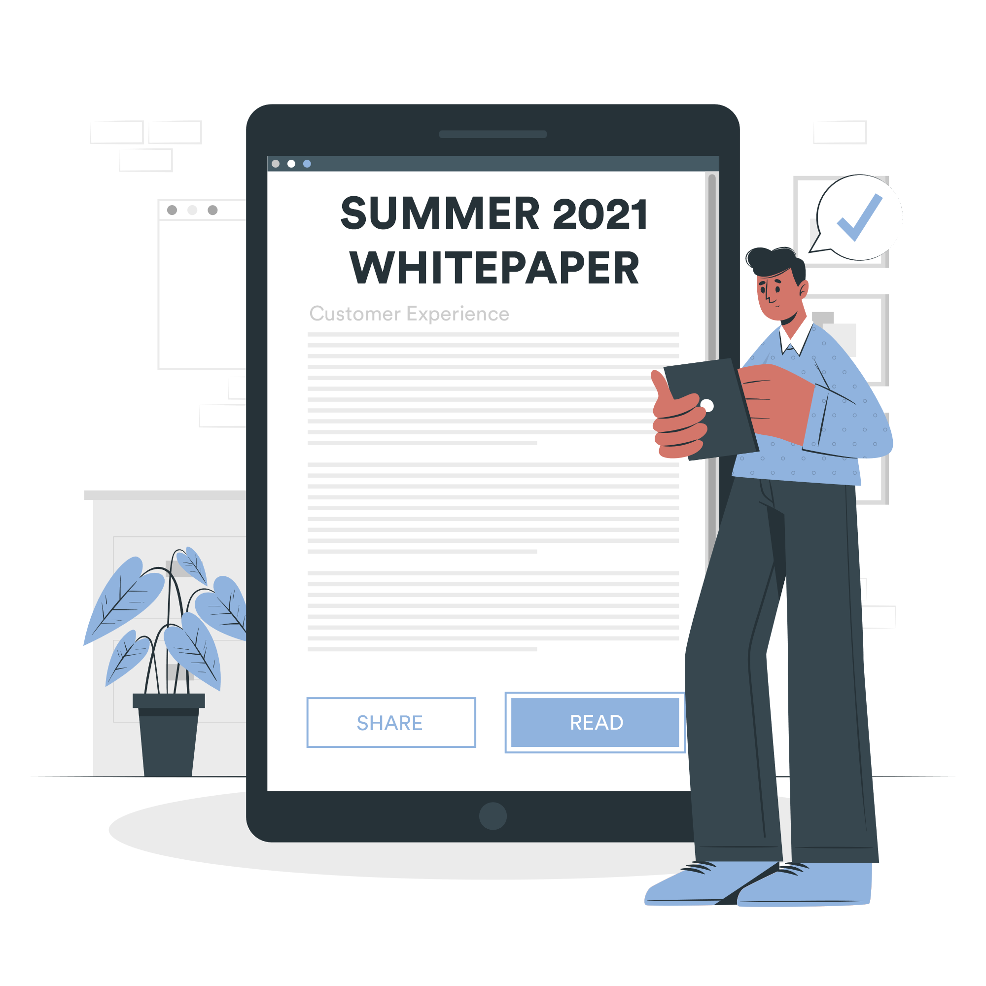 July 2021 / Whitepaper: How to improve your e-commerce customer experience in 2021?