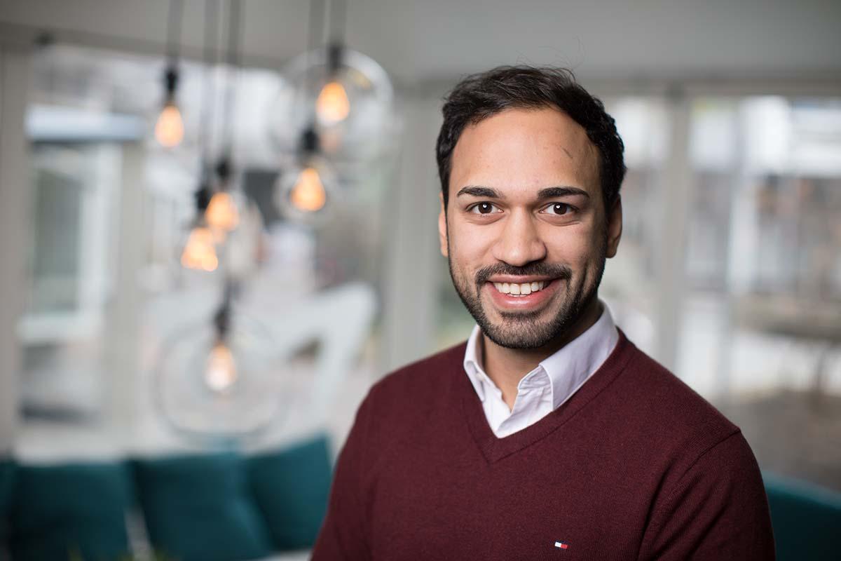 Simon Fakir, co-founder of Volunteer Vision.