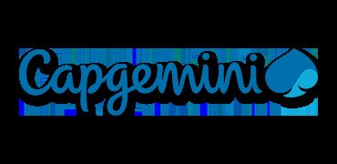 Logo of Capgemini.