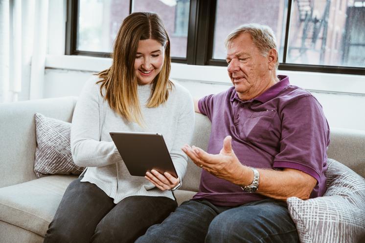 Daughter Teaching Technology