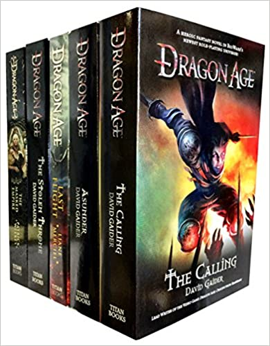 Dragon Age Series By David Gaider, Books For Gaming Enthusiasts