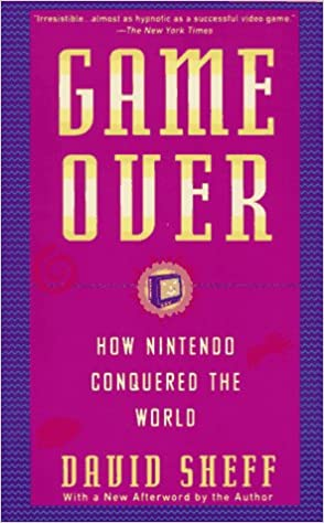 Game Over: How Nintendo Conquered the World, Books For Gaming Enthusiasts