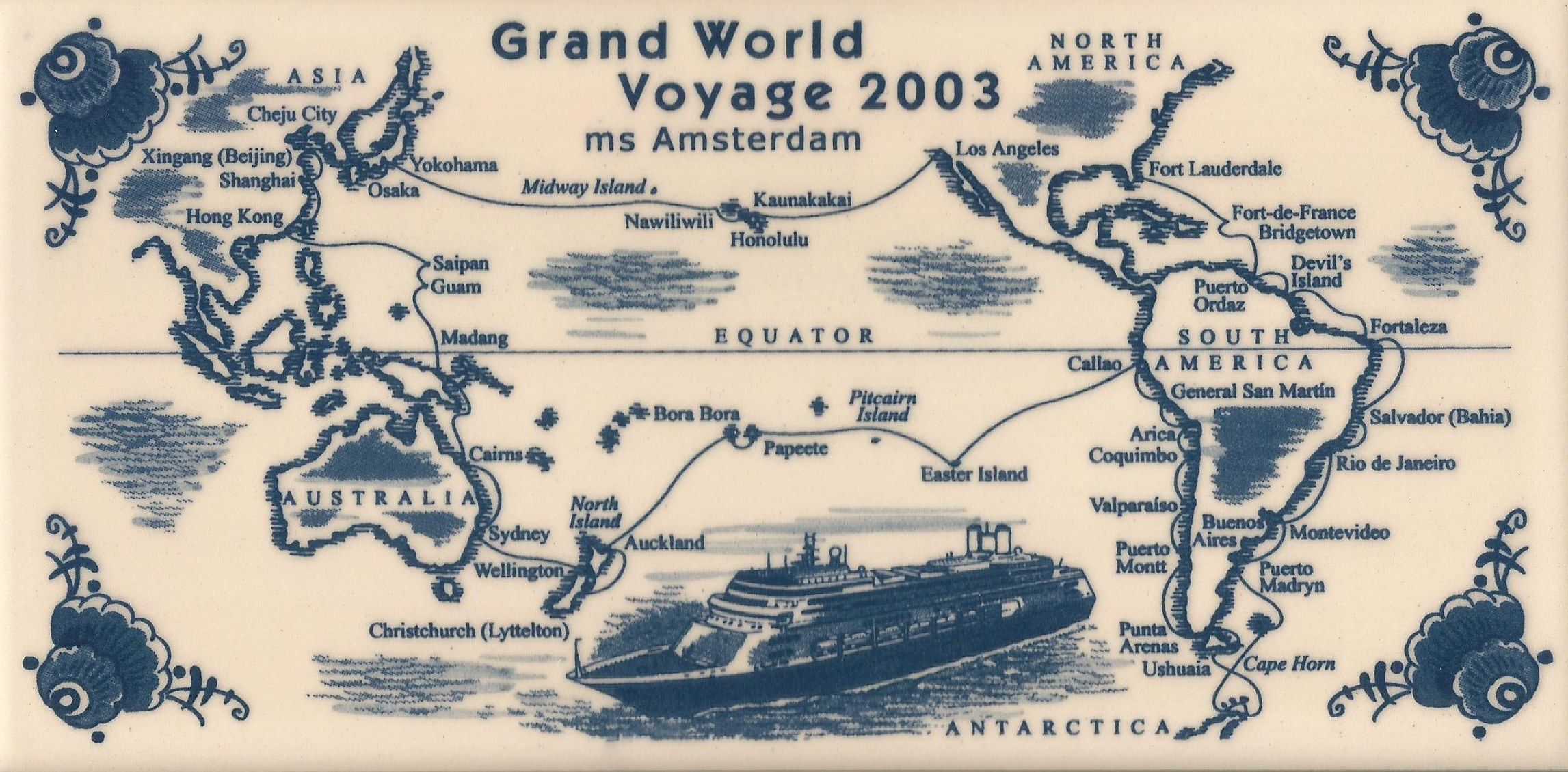 Holland America World Cruise 2003