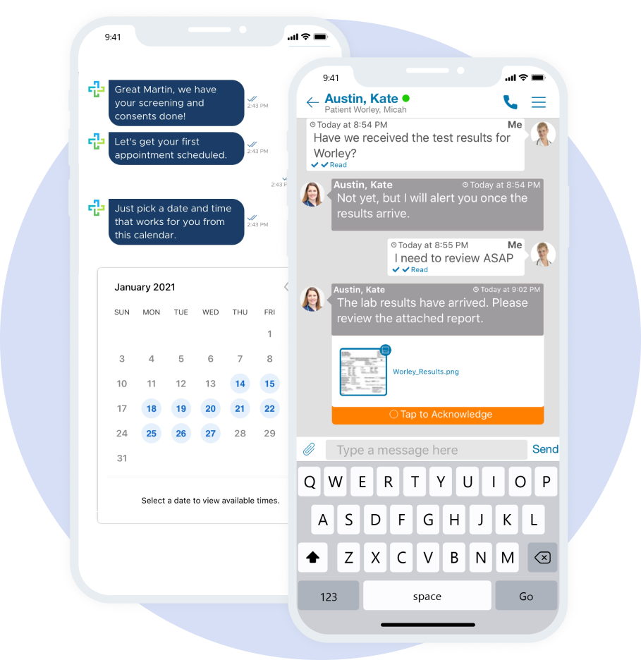 Qliq App Screenshots