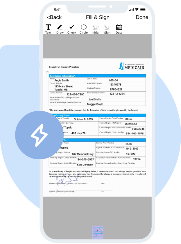Document Scanning App
