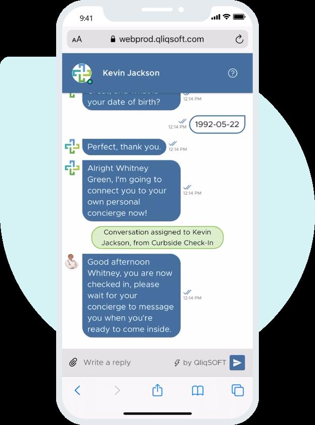 QliqSOFT App Chat