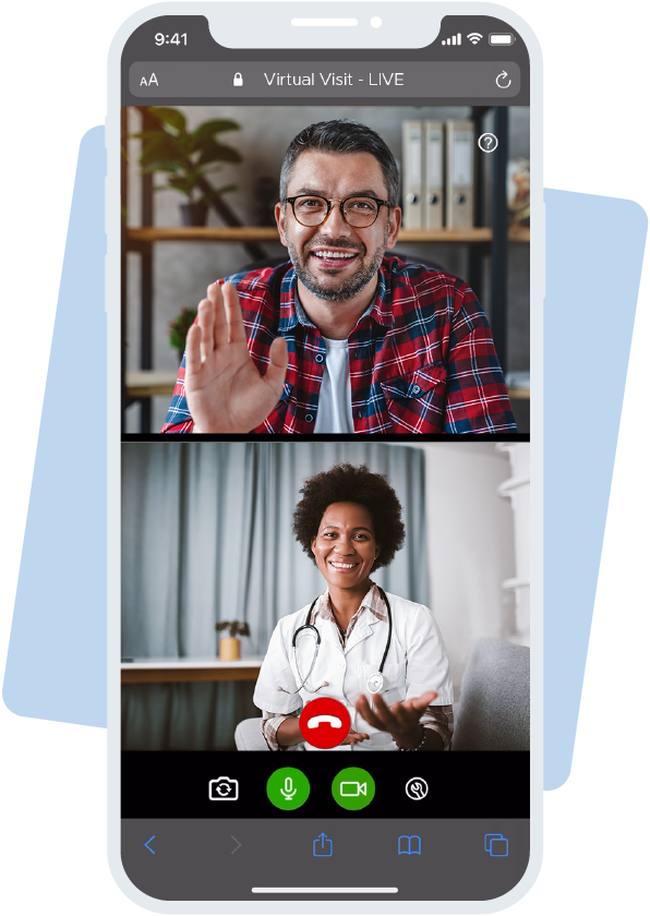 QliqSOFT Video Call with Doctor