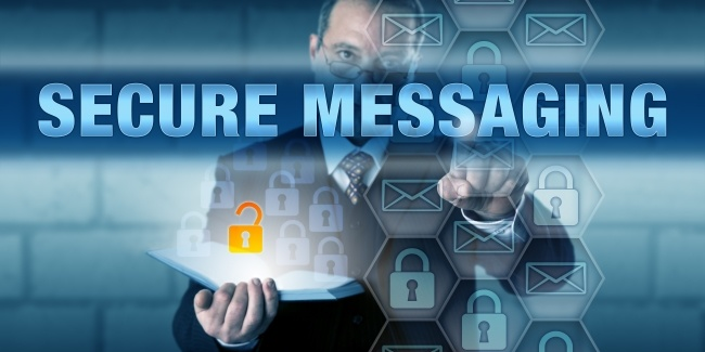 encrypted secure messaging application cloud based