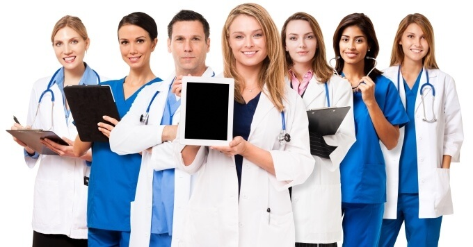 mobile usage in healthcare facilities