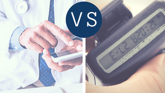 Smartphones vs. Pagers: Compare and Discover Why Secure Texting is Best