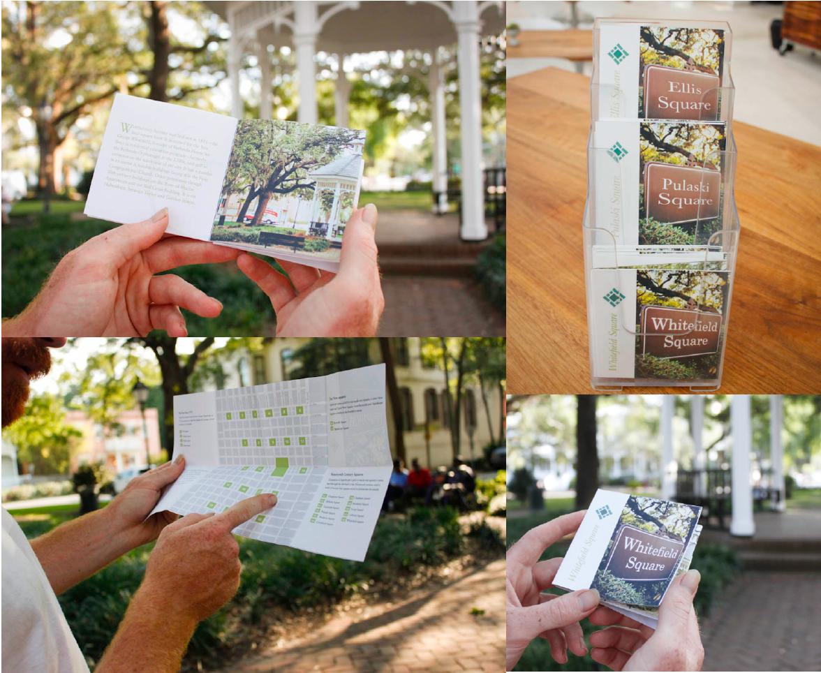 Savannah Squares projects printed map
