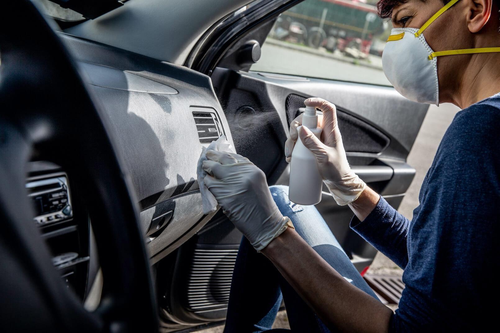 Homemade Car Dashboard Cleaner