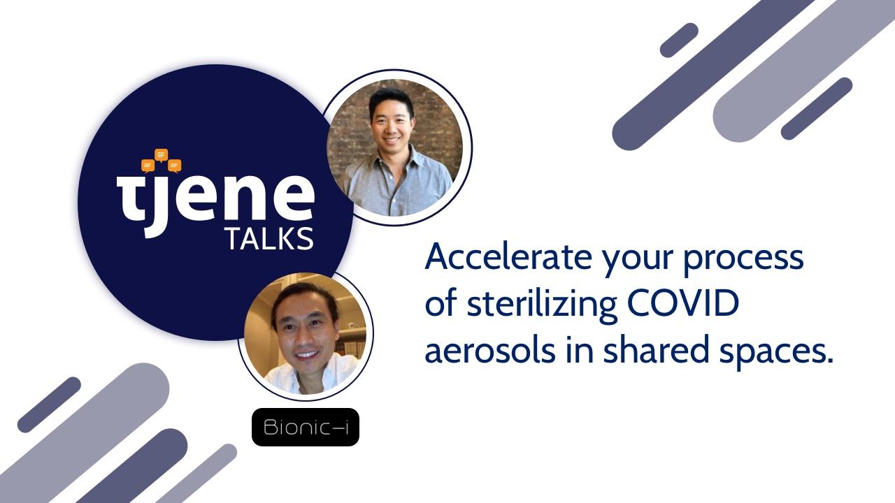Bionic-i Tjene Talk cover image