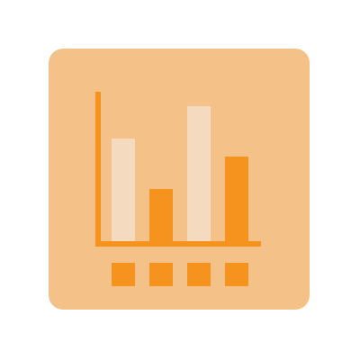 An application with bar graphs