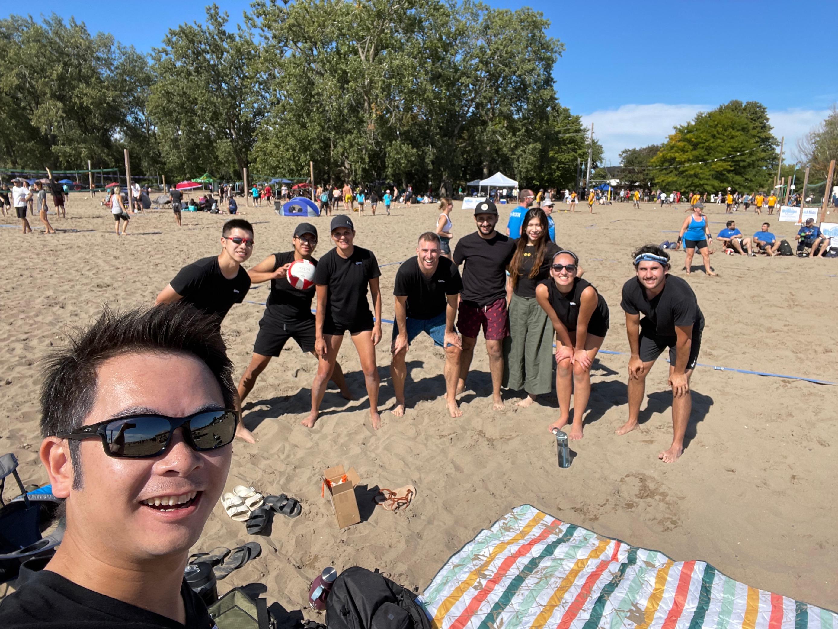 Tjene's 2nd SickKids' Volleyball Tournament