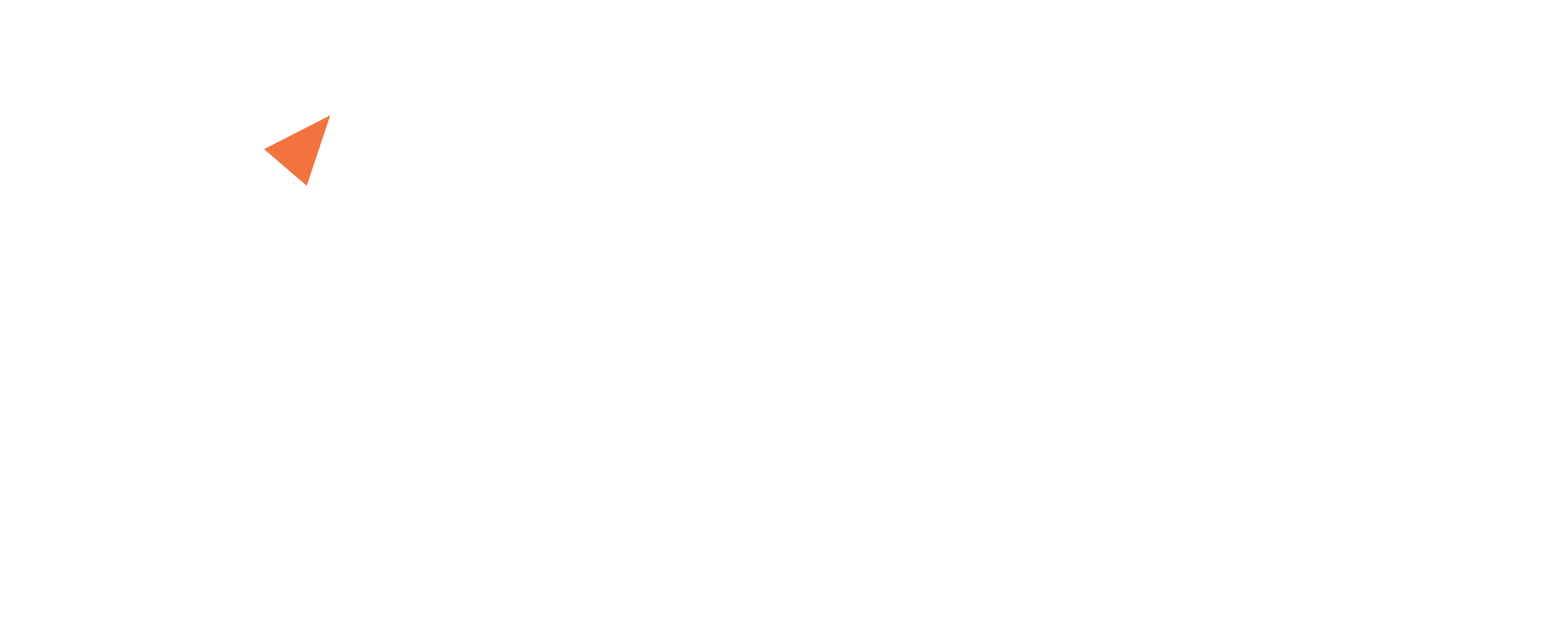 A white version of the Idea Link logo and name