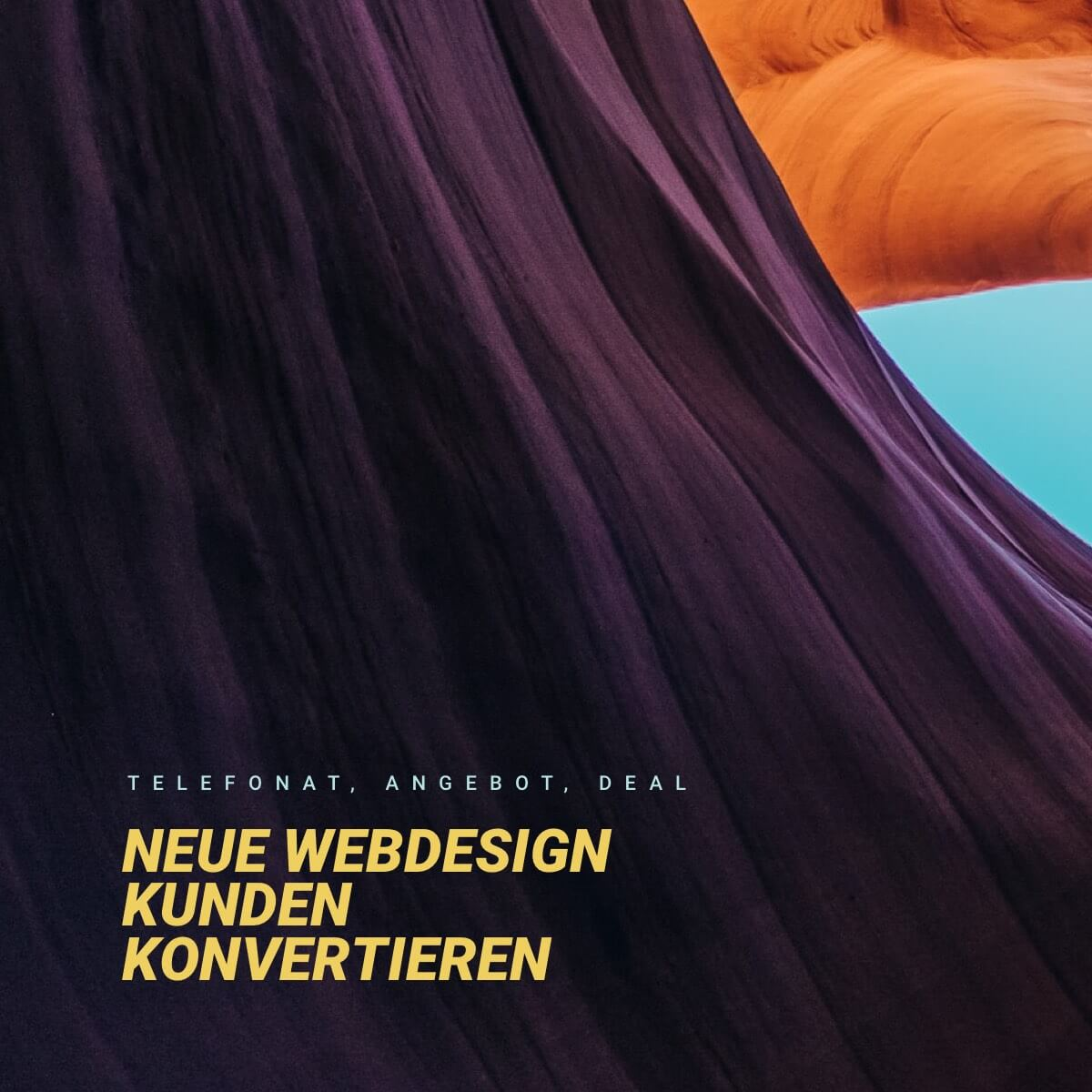 "Podcast Cover der Folge ""neue Webdesign Kunden konvertieren"""