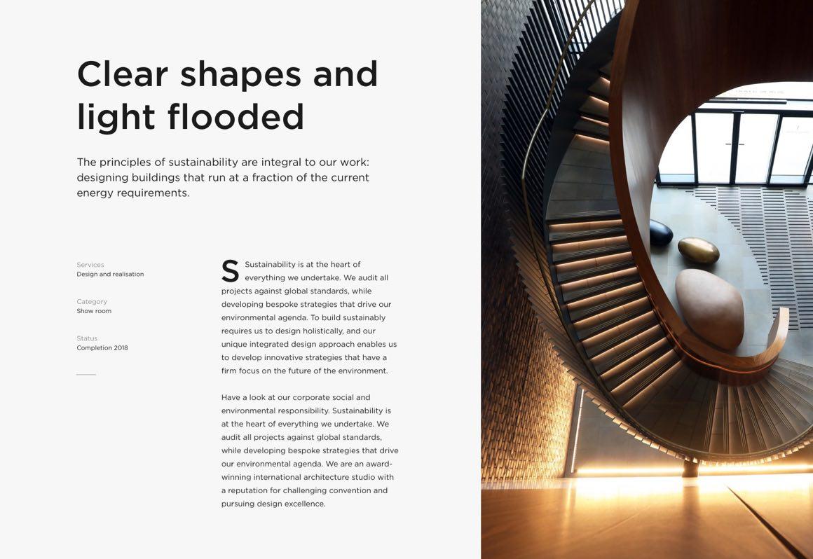 Jonas Arleth Webdesign Projekt Layout
