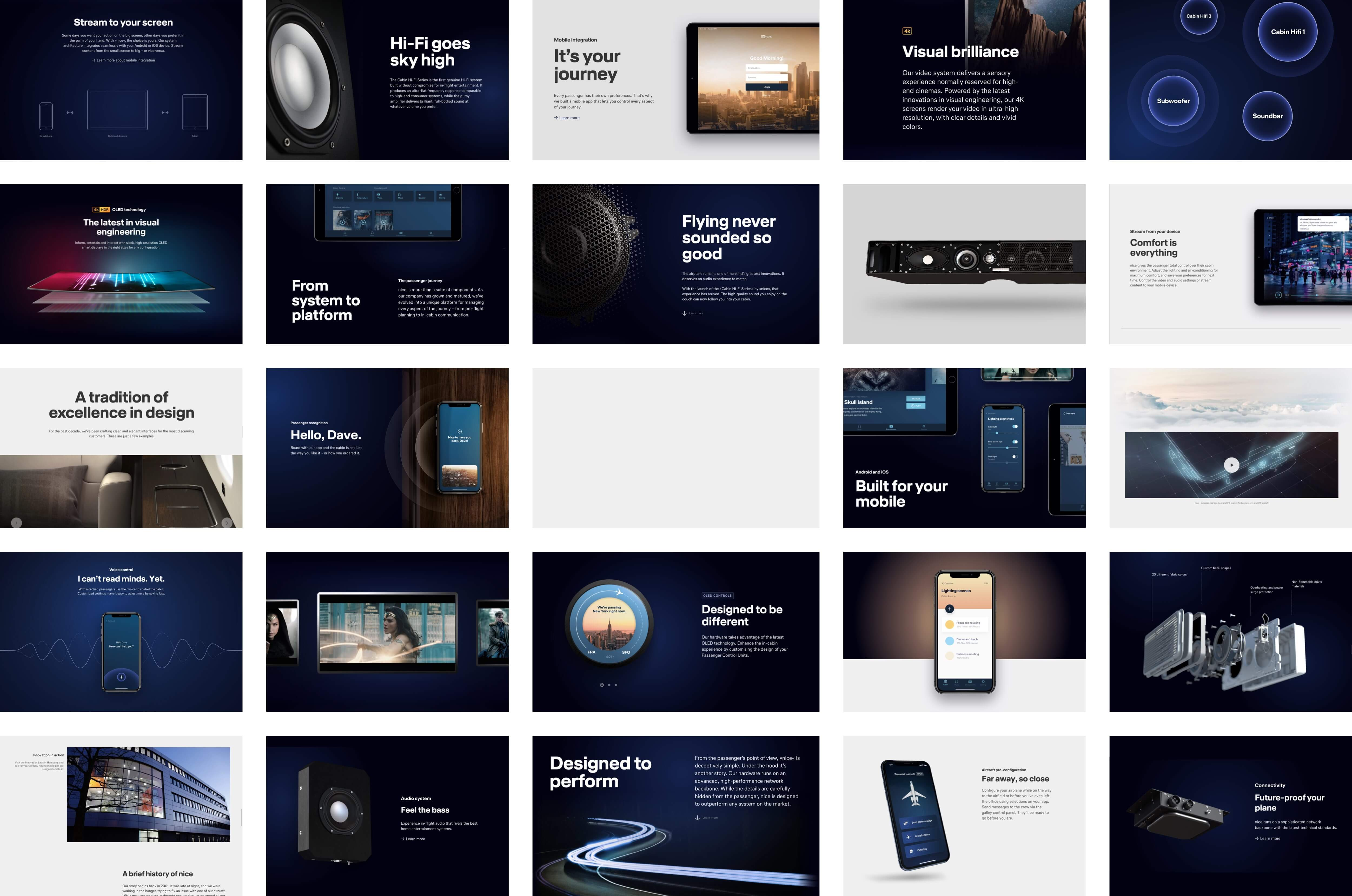 Webdesign Layout Collage