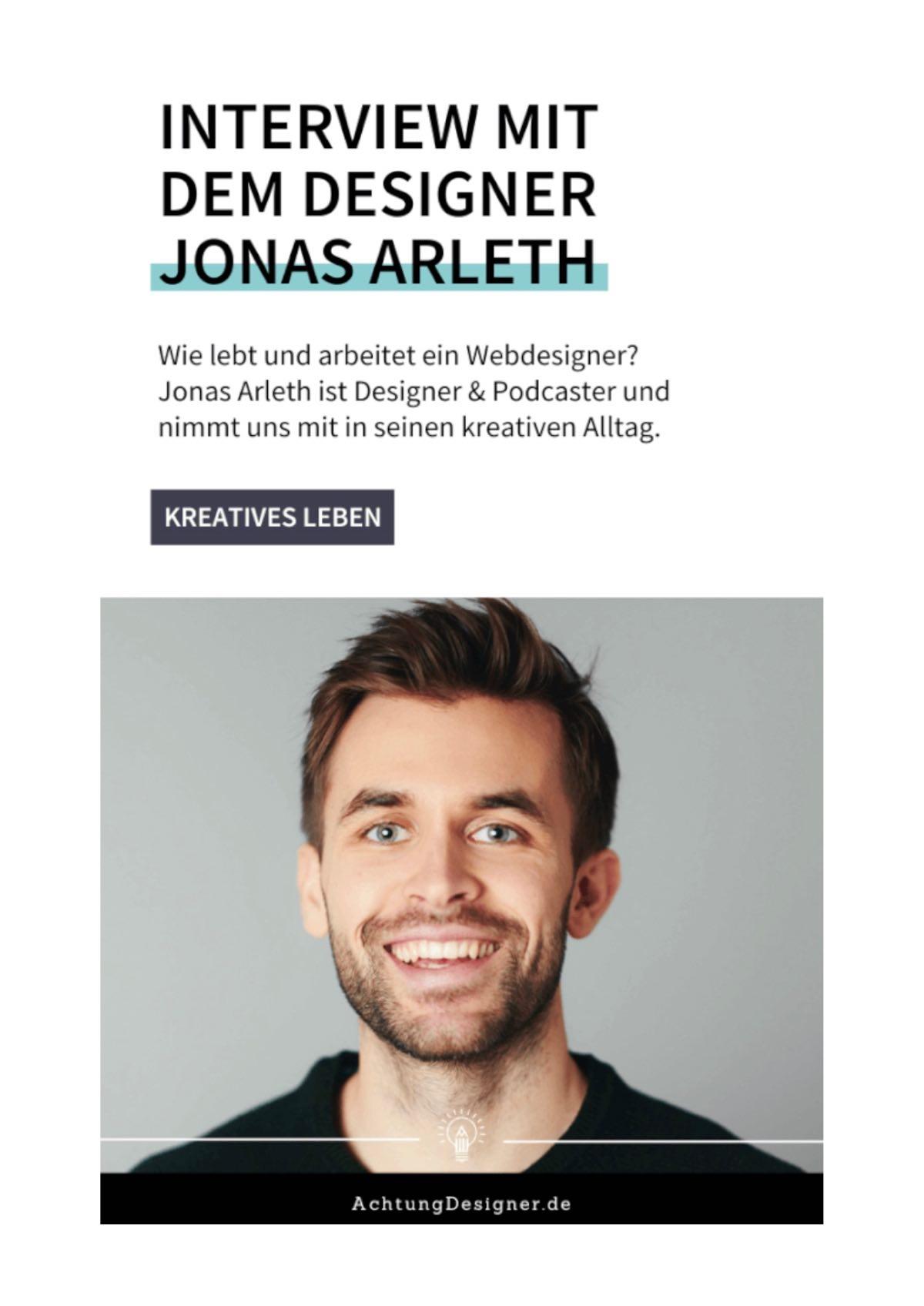 Teaser Blog Interview bei Achtung Designer