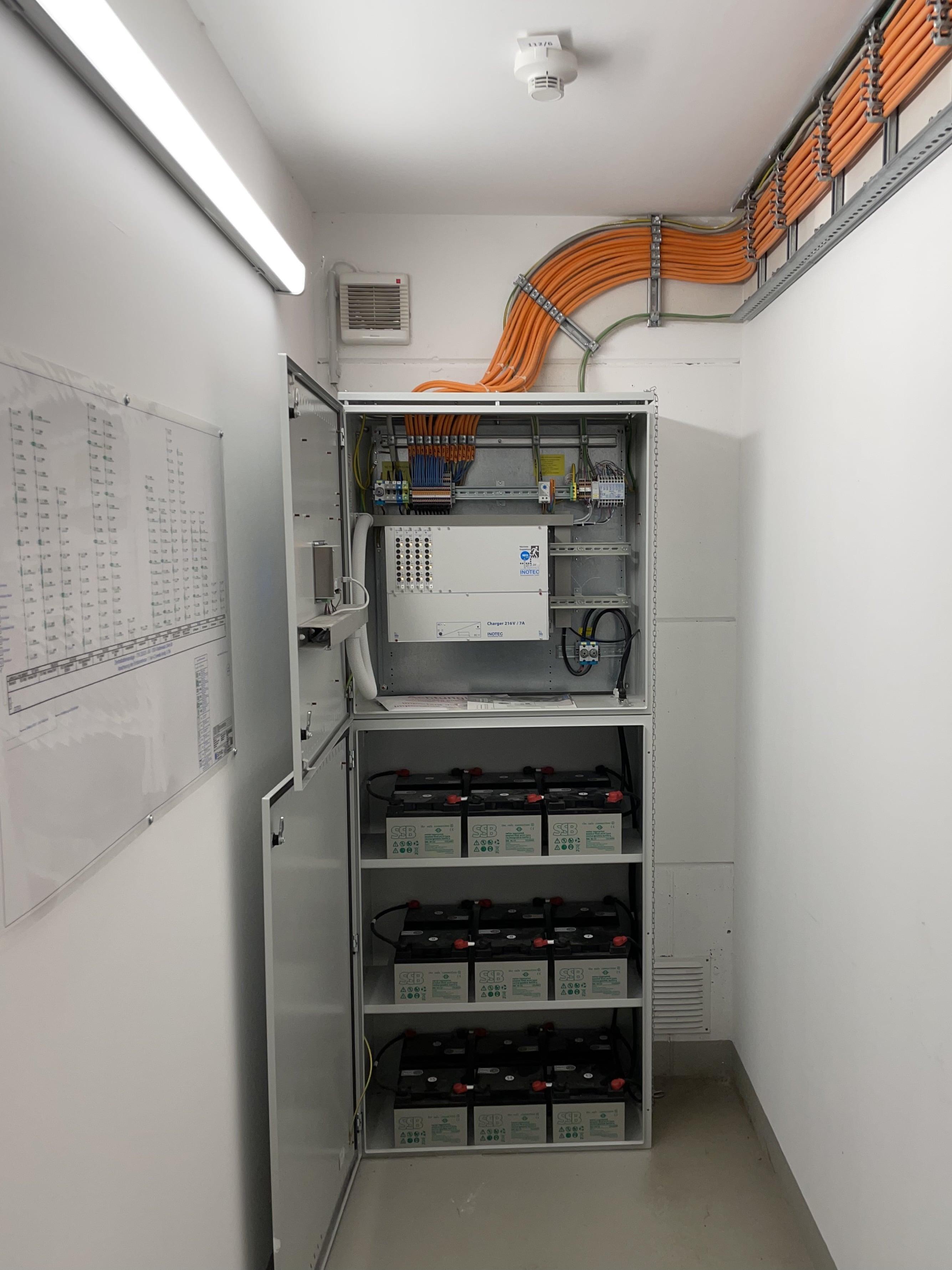 Installation und Anschluss eines Notstromaggregrats