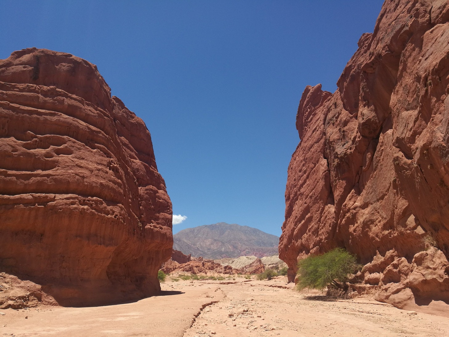 canyon view in Argentina
