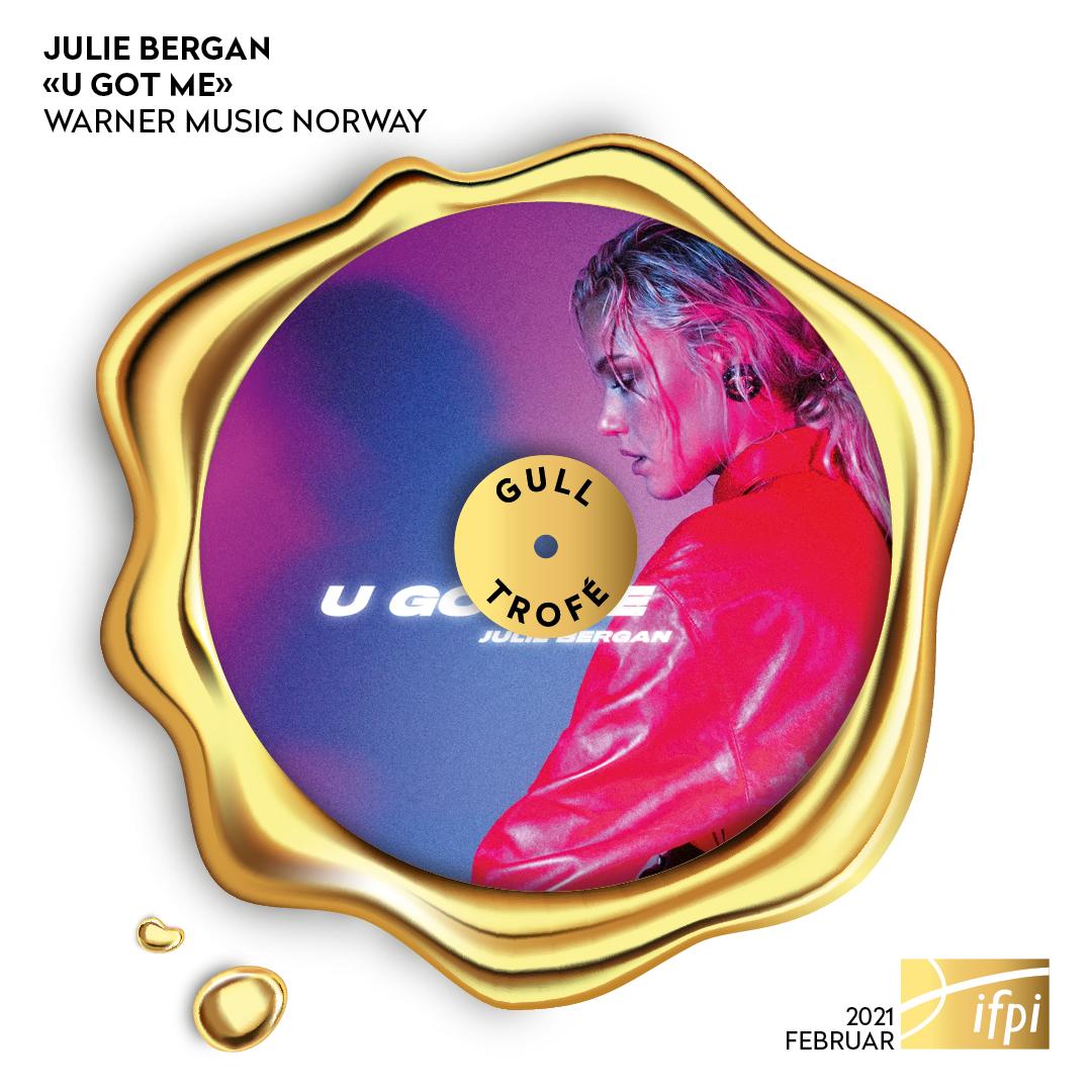 "Nye IFPI-trofeer - Julie Bergan - ""U Got Me"""