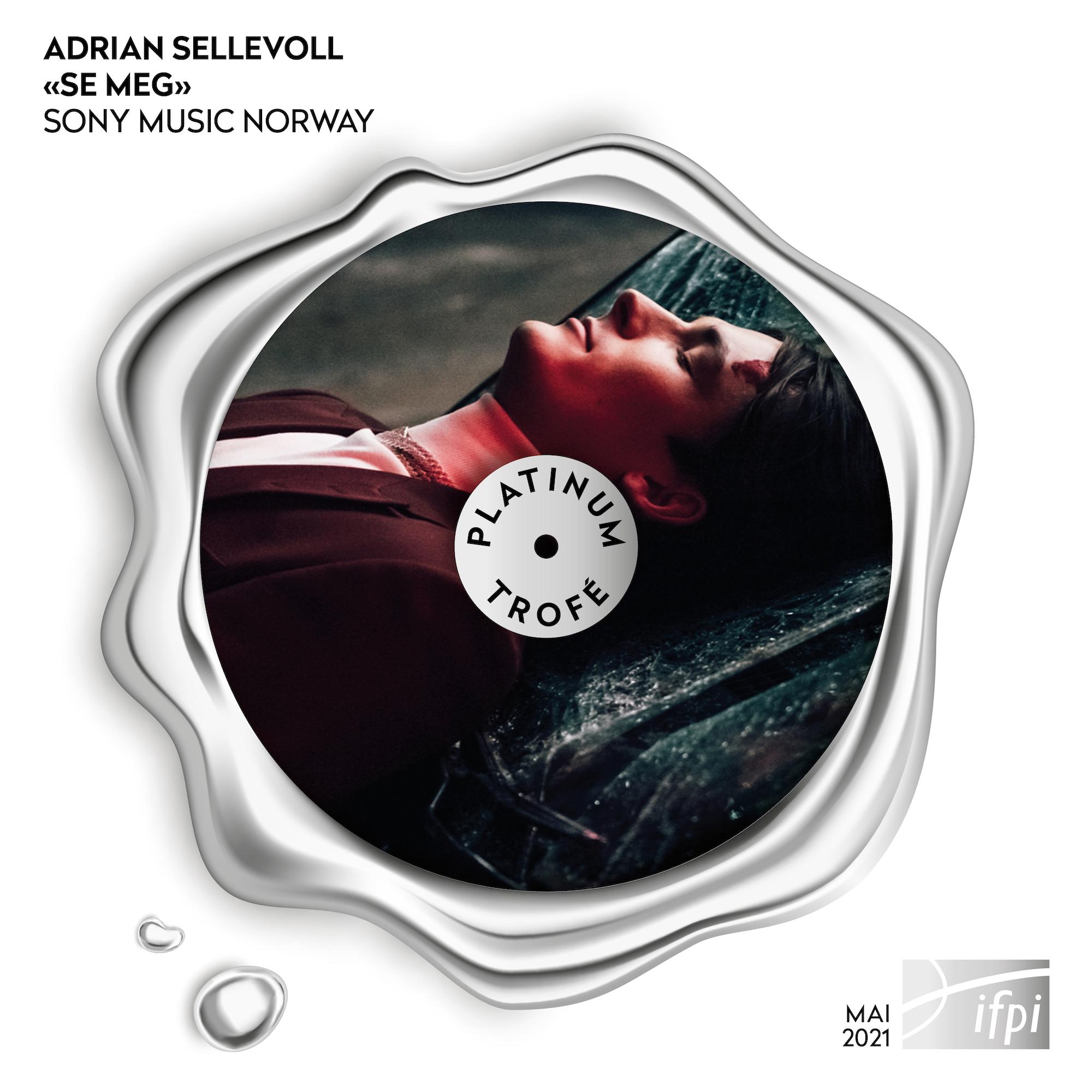 "Nye IFPI-trofeer - Adrian Sellevoll - ""Se meg"""