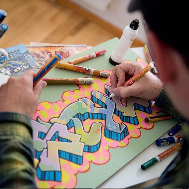 Lettergraffiti