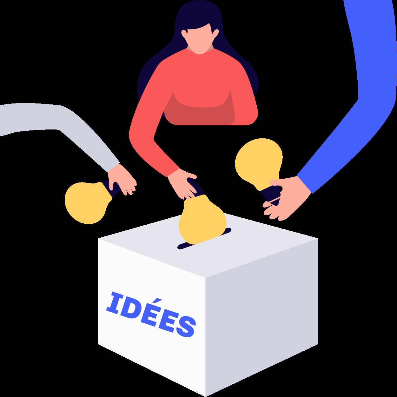 Boîte à idée numérique