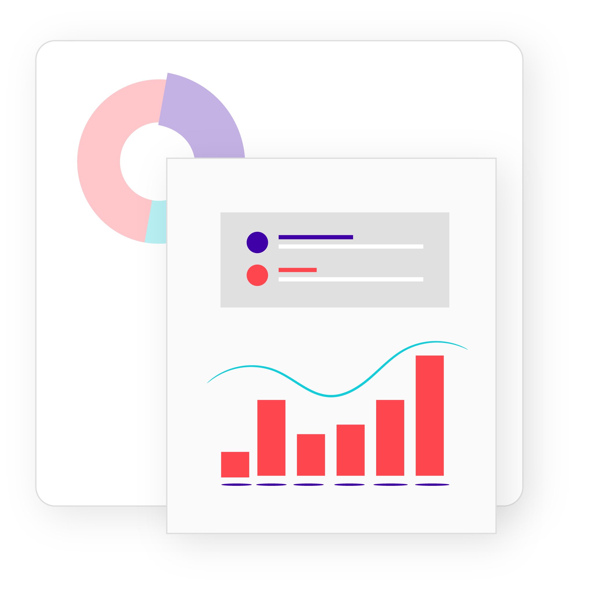 bar graph of data