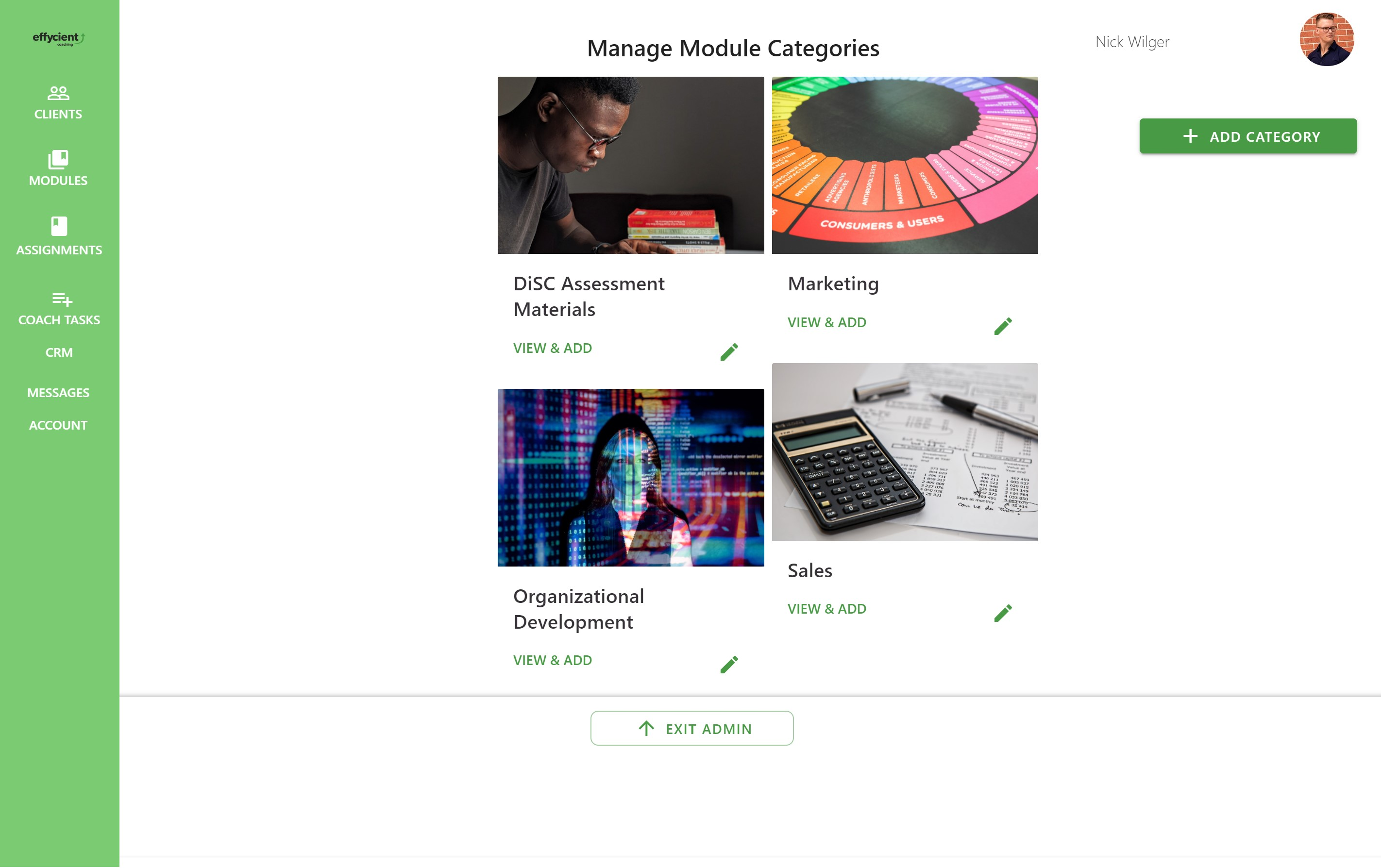 modules and categories