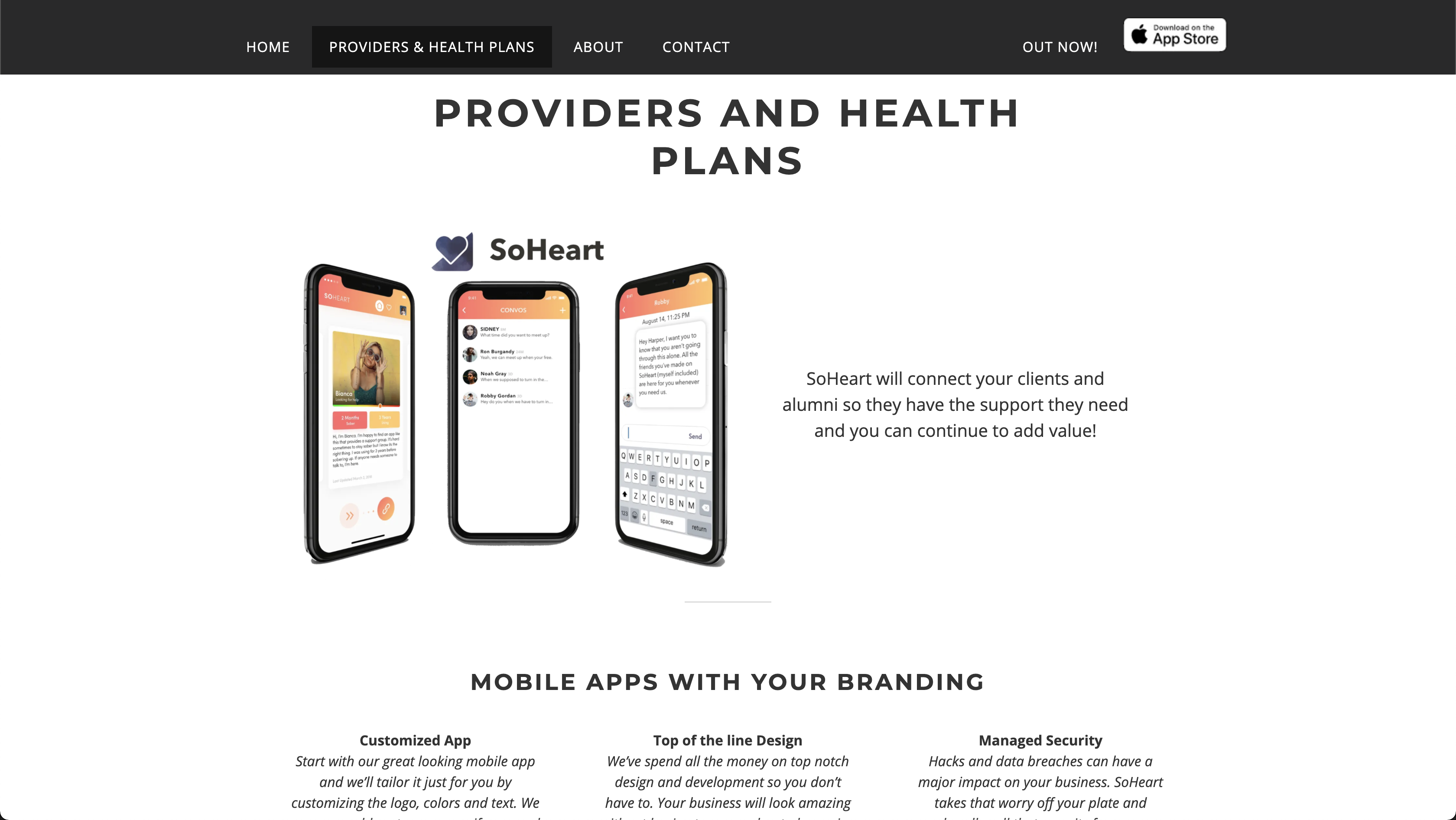 SoHeart Web Project
