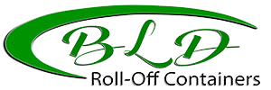 BLD roll-off containers business logo